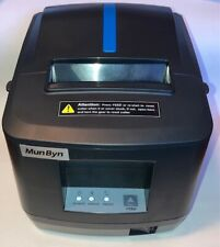 Pos Thermal Receipt Printer Usb Or Lan With Power Supply Amp Usb Cable Brand New