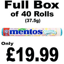 Full Box of 40 Mentos Shakies 37.5g Assorted Flavour Chewy Sweets Free P&P