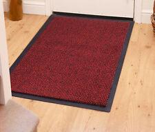 Barrier Mats Floor Mats Polypropylene Rug Carpet For Home Office Red 40 x 60cm