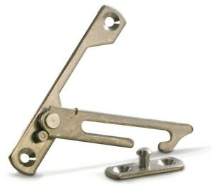 Fab&Fix Stainless Steel Window Restrictor Stay For PVC, Aluminium, Windows