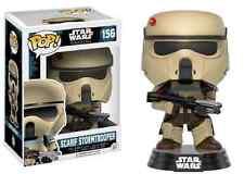 STAR WARS ROGUE uno SCARIF Stormtrooper blu a righe 156 Funko Pop Figura in vinile