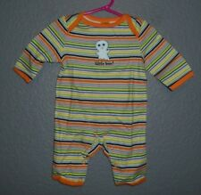 Halloween - TARGET Outfit ONEPIECE COVERALL-3-6 mo -StrIped Little BOO - NWT