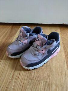 Nike Air Max Toddler Girls Shoes Size 7c Sneaker Purple Pink
