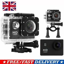 1080P 12MP SJ4000 Waterproof Sport Camera Action Mini DV Video Helmet DVR Cam UK