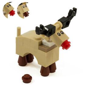 Reindeer | Rudolph Christmas | Custom kit made with real LEGO Bricks