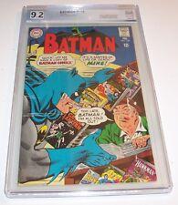 Batman #199 - Graded NM- 9.2 - 1968 DC Silver Age Issue