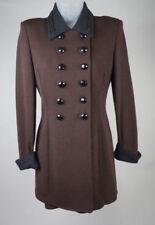 Tailleur e abiti sartoriali da donna marrone abito in lana