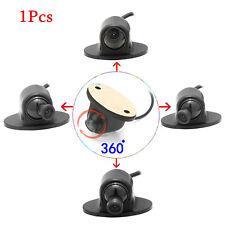 360 Degree Car Front Side Rear View Reverse Backup Camera Waterproof Parking Kit