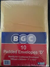 10 Size 5 Envelopes 215x245mm