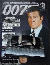 Mercedes Benz 250 SE 007 James Bond 1:43... #023 Octopussy