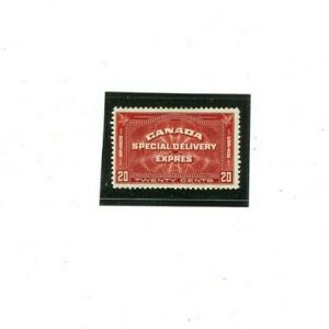 CANADA SPECIAL DELIVERY Stamp # E4  MVLH  (1) F-VF 1930 issue  20 cents