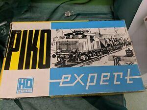 vintage PIKO HO 1:87 16,5MM RAILWAY SET E69005 ,DR410355,477372,