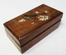 Antikes kl. handgefertigtes Kästchen - Briefmarkenbox - Bad Ischl - Art Deco