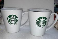 Starbucks ~ 2 Coffee Mugs ~ 9.63 oz/285ml - 2017 (A)