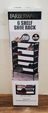 Farberware Household Shelves - New - Black - Shoe Rack