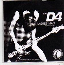 (BB389) The D4, Ladies Man - DJ CD