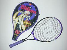 "Wilson Marvel Comics X-Men ""Storm"" Tennis Racquet Oversize w Cover 1996 - Cool"