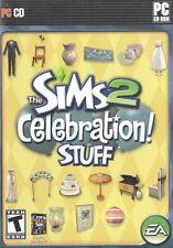 The Sims 2 Celebration Stuff PC Games Windows 10 8 7 XP Computer expansion pack