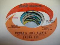 Soul 45 LAURA LEE Women's Love Rights on Hot Wax