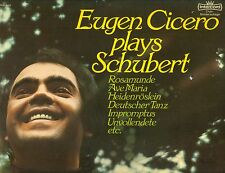 "EUGEN CICERO plays FRANZ SCHUBERT 12 "" LP (L9759)"