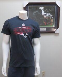 New England Patriots NFL Super Bowl LI Houston Bound T-Shirt By 47 Brand NWT