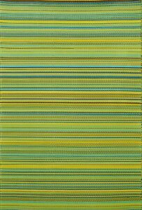 Outdoor Rugs and Mat | Cancun Lemon &  Apple Green | 180x270 CM | Free Shipping