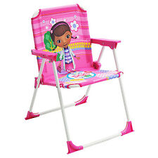 Disney Doc McStuffins Kids Chair Single Outdoor Indoor Toddler Camping NEW