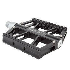 Black Ops Pedals X-Bar Cnc 2Pc Silverd 9/16 Black BMX MTB