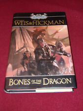 Bones of the Dragon by Tracy Hickman & Margaret Weis (2009) SIGNED Dragonships