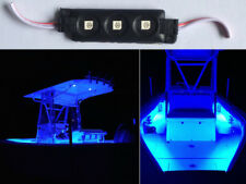 12V 3-SMD BLUE LED WATERPROOF BOAT/DECK/FISHING/CARAVAN LIGHTS 1 MODULES W
