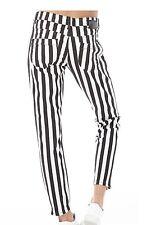 Adidas Neo Originals Donna/Women Pantaloni Selena Gomes Nero/Bianco Tg.27,29