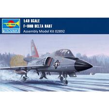 Trumpeter 02892 1/48 US F-106B Delta Dart Fighter Assembly Aircraft Model Kits