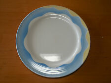 "Villeroy & Boch Luxembourg ADRIANA Set of 4 Dinner Lundheon Plates 10 1/2"" Blue"
