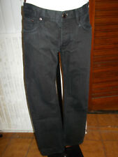 Pantalon jeans noir BURBERRY W30L 38FR taille basse slim 18na19