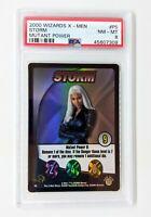 2000 Wizards X-Men Mutant Power #P5 Storm PSA NM-MT 8 Halle Berry
