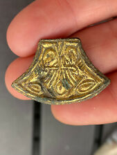 More details for anglo-saxon zoomorphic chip carved mount