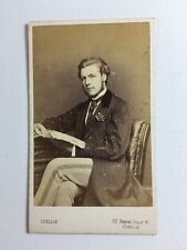 Victorian Carte De Visite CDV Photo: Gentleman: Crellin: Regent Street London