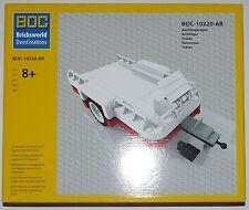 Lego® BOC Boots + Motorrad-Anhänger Camper f. LEGO #10220 VW Bulli T1