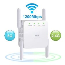1200Mbps 2.4G&5G Repeater Wireless WiFi Range Extender Amplifier Signal Booster