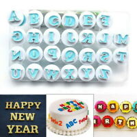 26 Alphabet Letter Number Fondant Cake Biscuit Baking Mould Cookie Cutters~