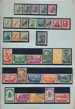 XC39109 Morocco Spanish protectorate mixed thematics fine lot used