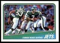 1988 Topps Ken O'Brien New York Jets #301