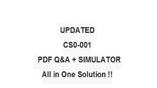 COMPTIA CYBER ANALYST SECURITY CSA+ CS0-001 Exam QA PDF&Simulator