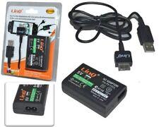 Alimentatore Caricabatterie Per PS Vita Con Cavo Usb Dati Linq Ps-v301