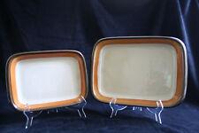 2x vintage rectangular baker of oven dish Rörstrand Annika, Made in Sweden