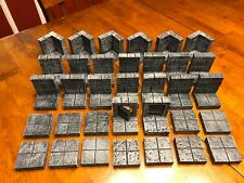 Dungeon Big Modular Set Wargame Terrain Scenery Dungeons & Dragons Pathfinder
