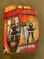 DC Comics Mutiverse Batman Harley Quinn Action Figure Mattel NEW MIP
