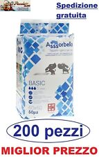 Assorbello Basic 60x60 traverse tappetini igienici assorbenti per cani 200 pezzi