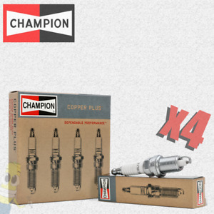 Champion (592) RJ12C Spark Plug - Set of 4