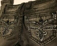 Rock Revival Arisa Skinny Jeans from Size 25 Distressed Destroyed